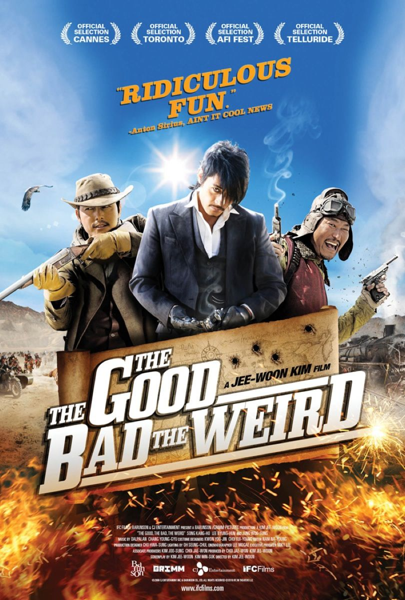 My TOP TEN Korean movies. The Good, the Bad and the Weird
