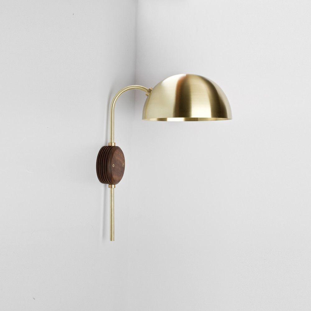 Clasp wall lamp walls lights and interiors