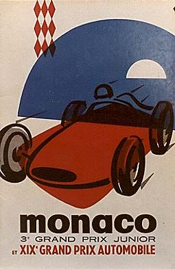 We Ll Give You 15 Good Reasons To Visit Monaco This Weekend Vintage Racing Poster Auto Racing Posters Racing Posters