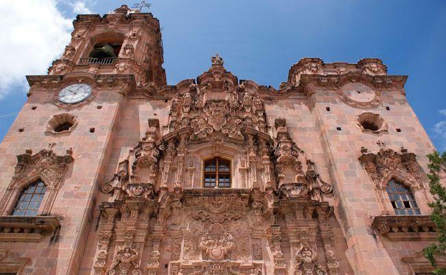 Iglesia de la valenciana-Guanajuato http://www.adrepresentaciones.com/