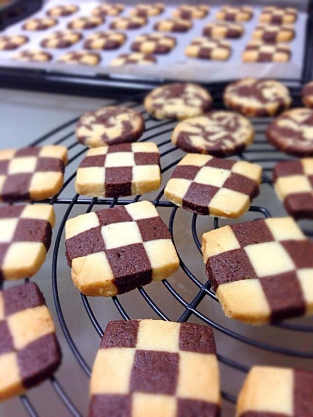 簡単で可愛いアイスボックスクッキーを大量生産しちゃおう☆ おいしそー! Desserts、cookies、cake