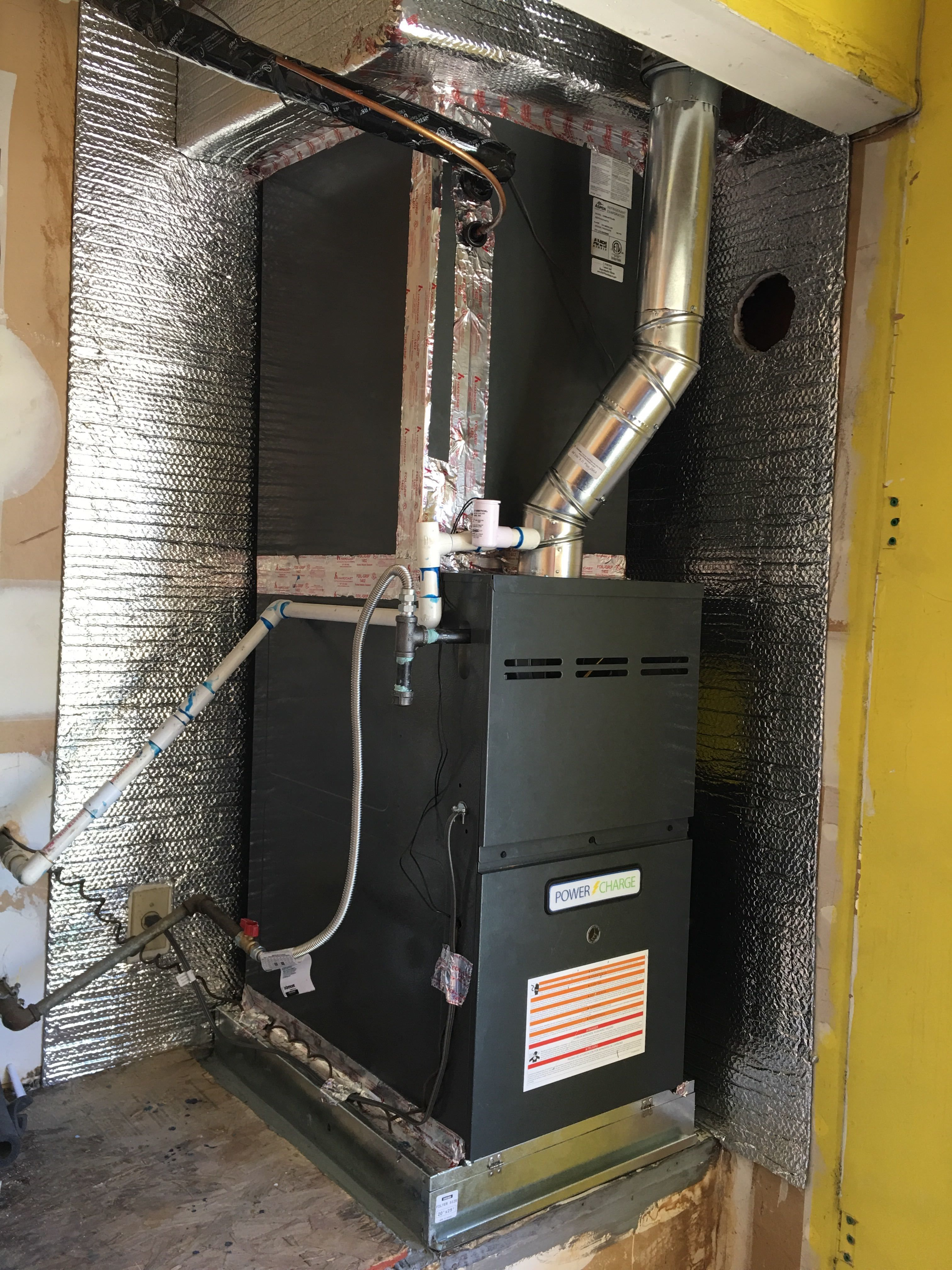 Upgrade your furnace and air conditioning system to a