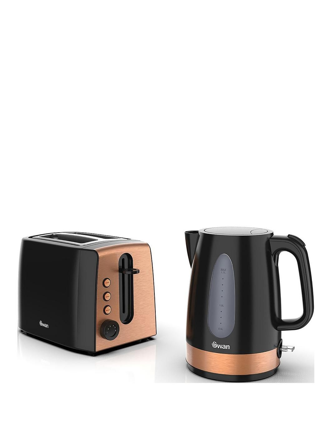 Kettle and 2 Slice Toaster Twin Pack