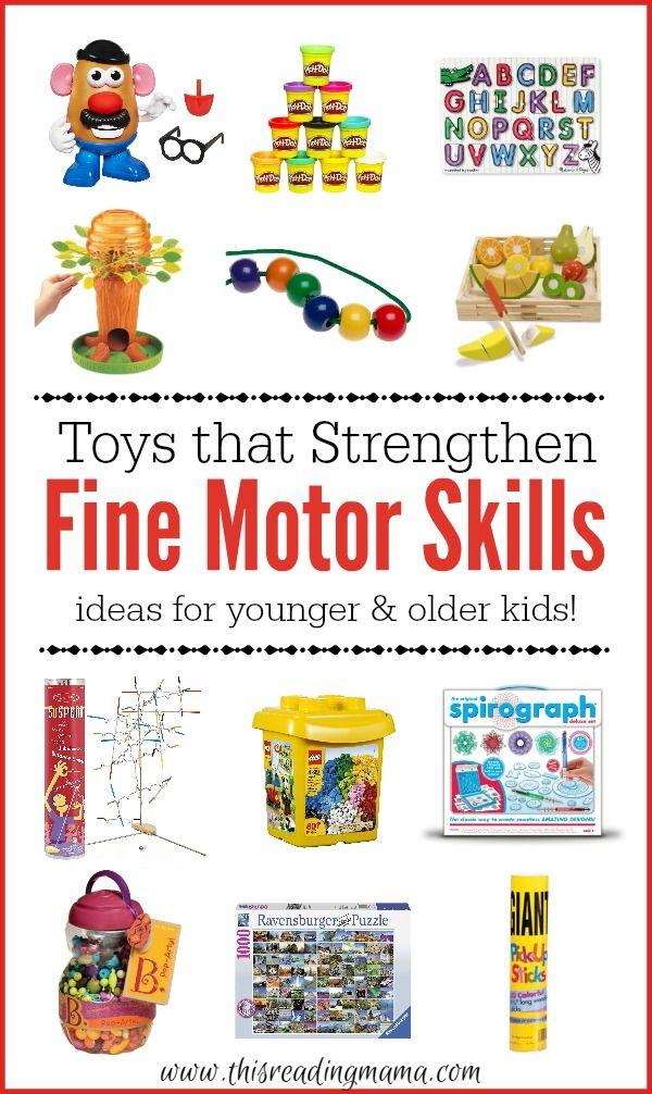 Toys That Strengthen Fine Motor Skills Motor Skills
