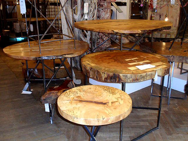 natural recycled wood tables projects pinterest tree stump