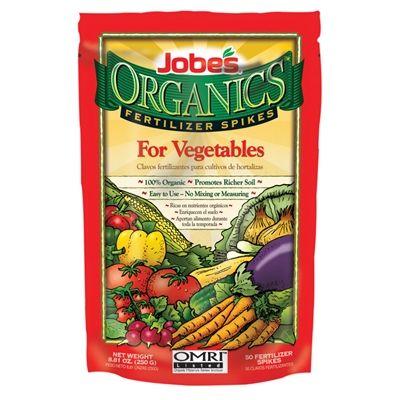 Jobe S Organic Vegetable Fertilizer Spikes Lowe S 400 x 300