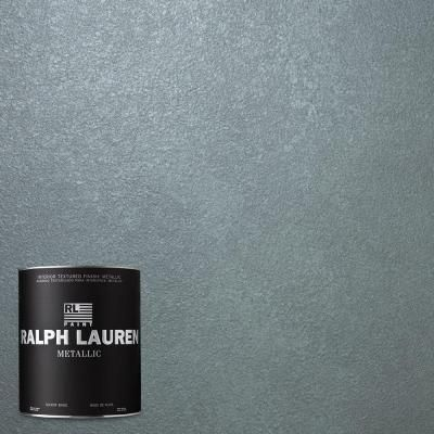 Ralph Lauren 1 Qt Blue Zircon Metallic Specialty Finish Interior Paint Me108 04 At The Home Depot Ralph Lauren Paint Colors Ralph Lauren Paint Interior Paint