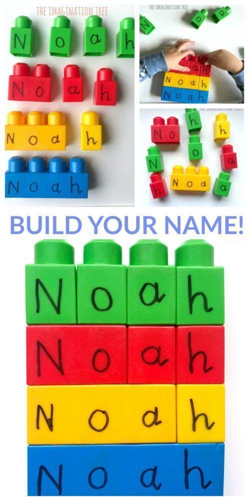 Building Blocks Name Game - The Imagination Tree