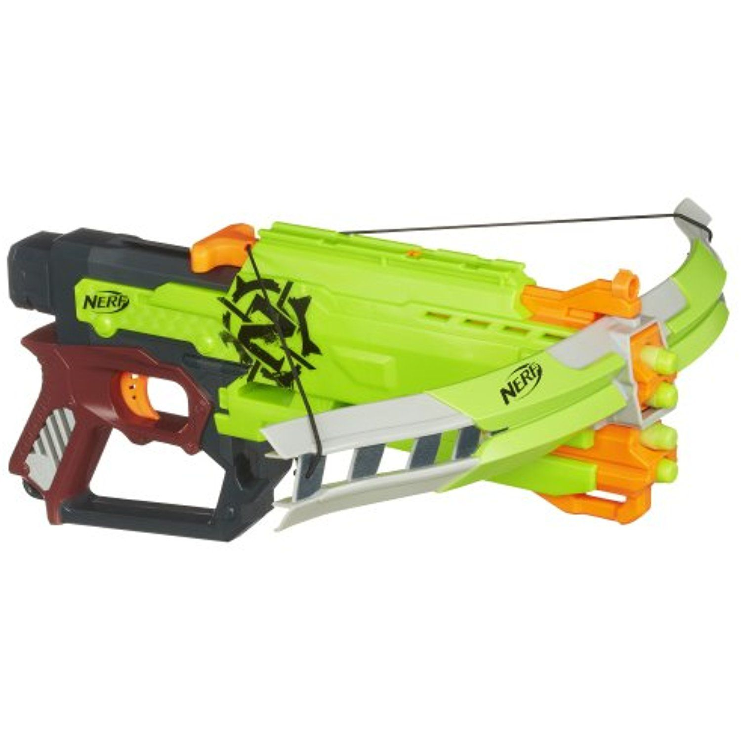 Nerf Zombie Strike Crossfire Bow Blaster You can find out more details at the link