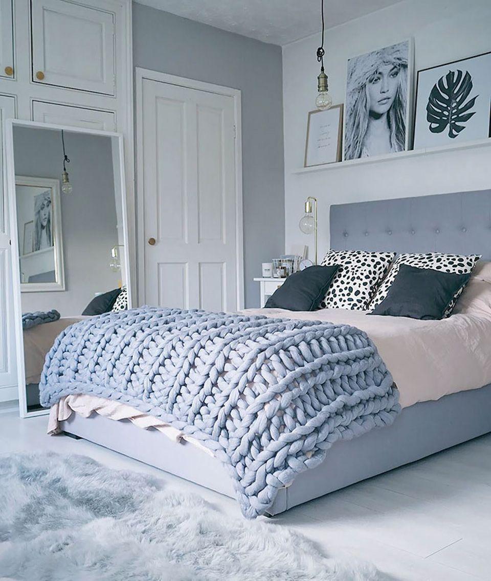 diy deco chambre plaid geant  Dormitorios, Dormitorios/recámaras
