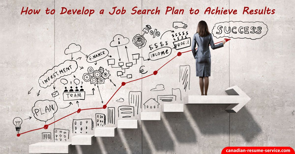 How To Develop A Job Search Plan To Achieve Results Embarking On A Job Search Can Be Overwhelming Develo Career Planning Success Business Business Marketing