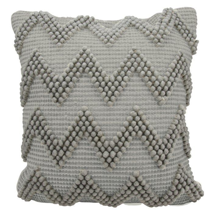 Breuer Chevron Pillow Chevron Throw Pillows Throw Pillows Grey