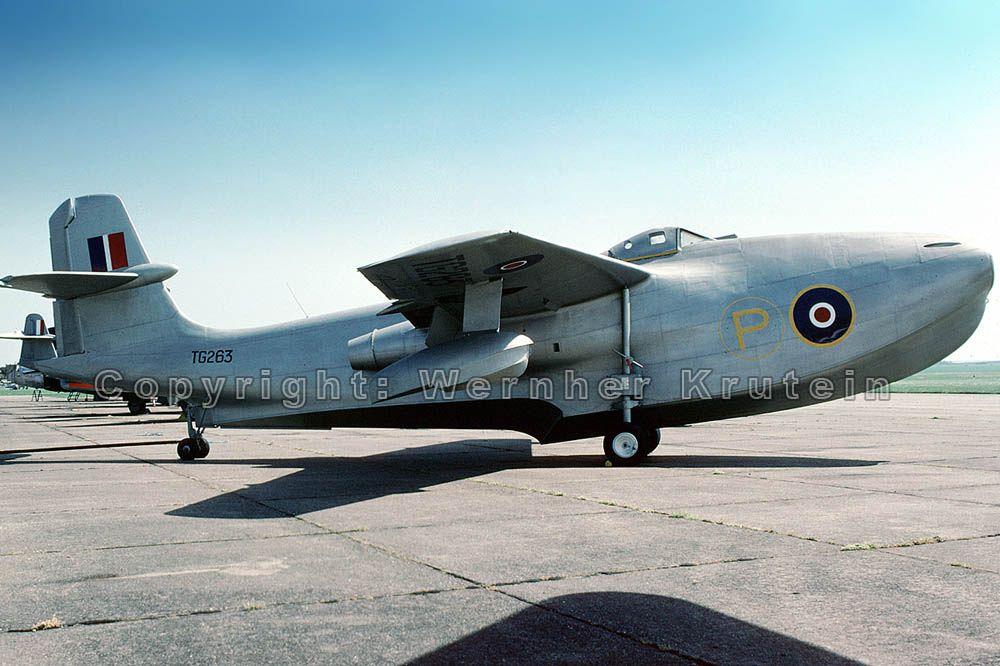 . Seaplane Jet Fighter, SR.A/1, TG263, Saunders-Roe,