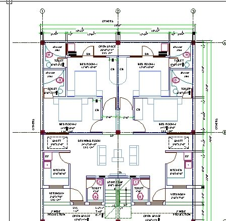 Nice Cad Architecture Home Design New Autocad House Plans