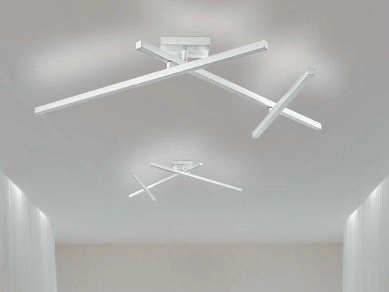 Lámpara de techo LED ajustable de metal CARMEN - PANZERI