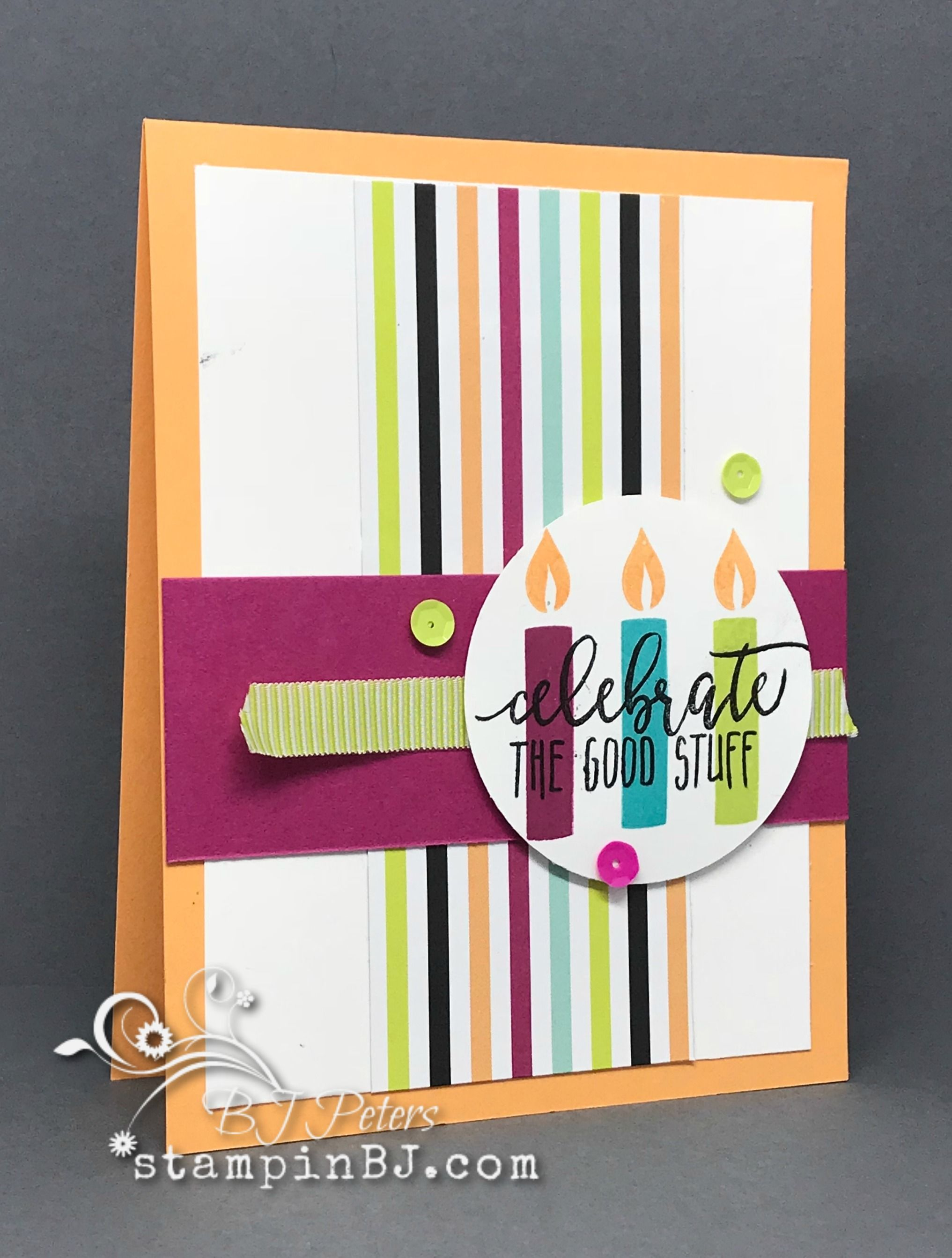 Picture Perfect Birthday part of Creative Inking Blog Hop