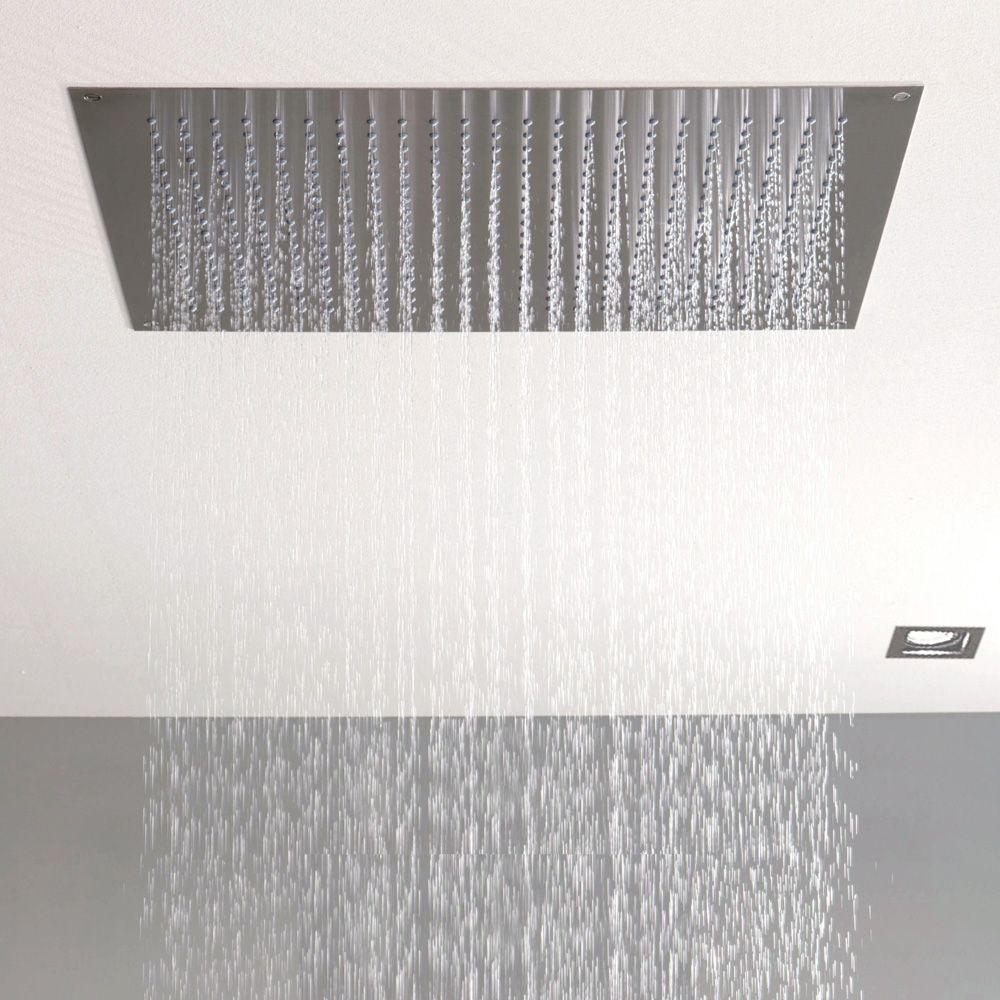 steinberg serie 390 tropical rain regenpaneel edelstahl poliert reuter onlineshop. Black Bedroom Furniture Sets. Home Design Ideas