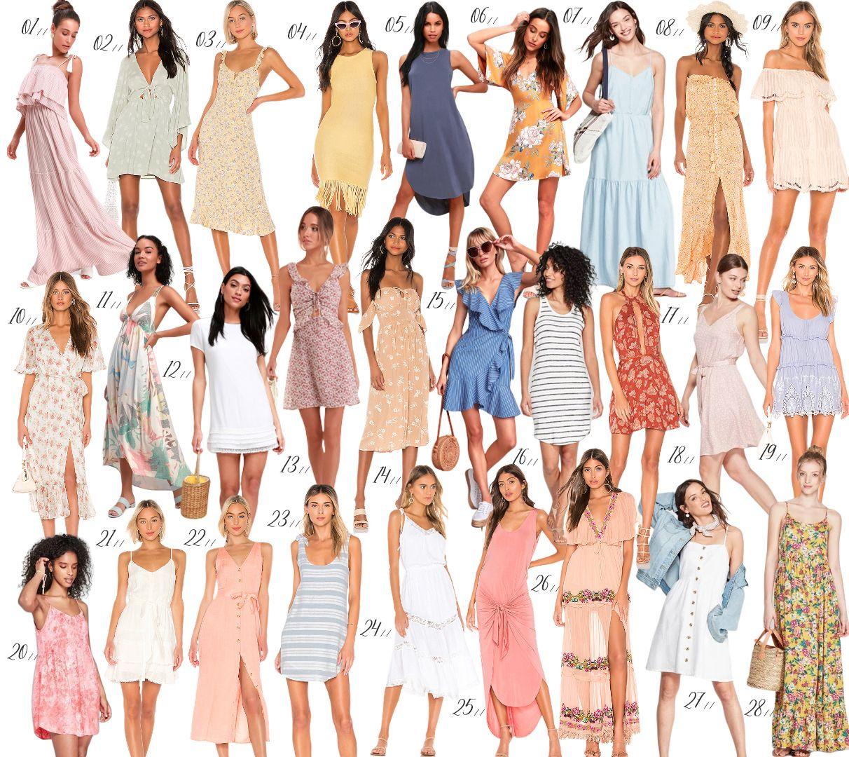 Sunseeking In Style Summer Dress Edit Beat The Heat In These Comfy Cute Summer Dress Styles Sum Summer Fashion Dresses Summer Dresses Cute Summer Dresses [ 1080 x 1212 Pixel ]