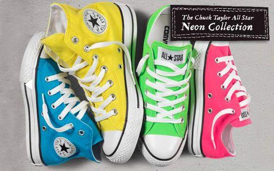 88ba47d8 zapatillas converse fluor - Buscar con Google | VALE | Zapatillas ...