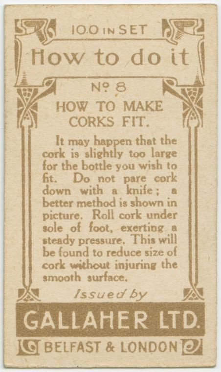 how to make corks fit #2