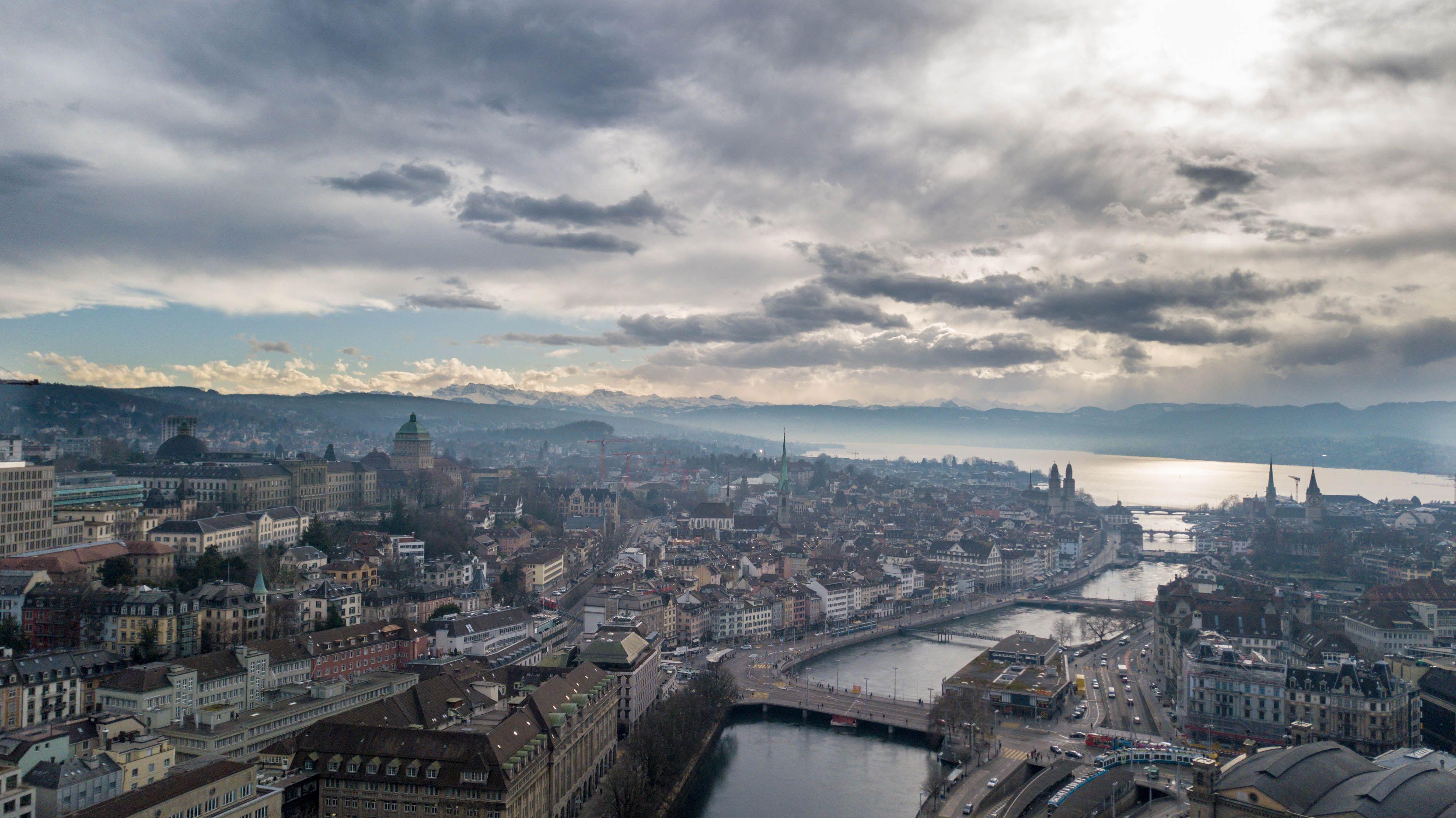 Zurich Stadt City See Brucke Haus Mieten Wohnen Kaufen