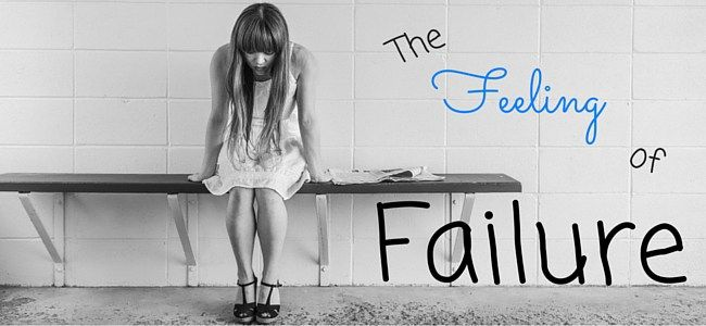 The feeling of failure is what we possess inside our minds and demotivates our passion for life! latent lifestyle. Failure is not falling down but refusing to get back up!