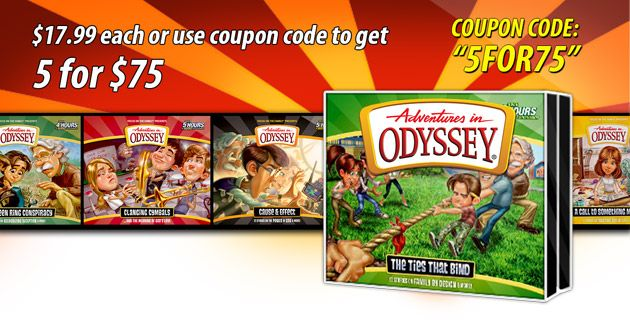 Pick any 5 Odyssey Volume Sets for $75 gsbooks.us/c/187_4_50