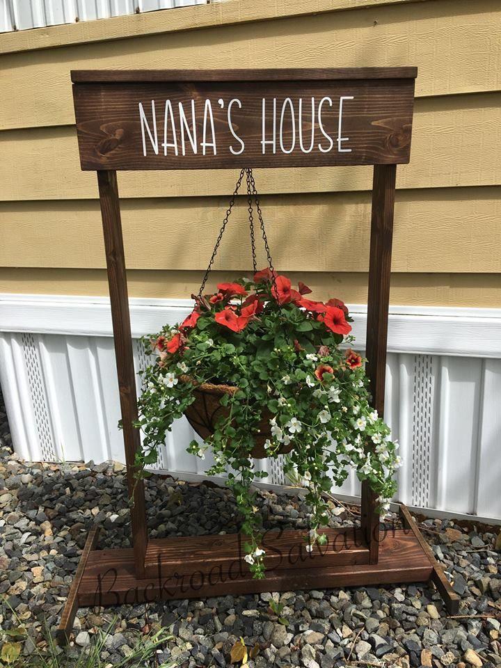 Pin By Backroad Salvation On Backroad Salvation Signs Hanging Plants Hanging Flower Baskets Hanging Basket Stand
