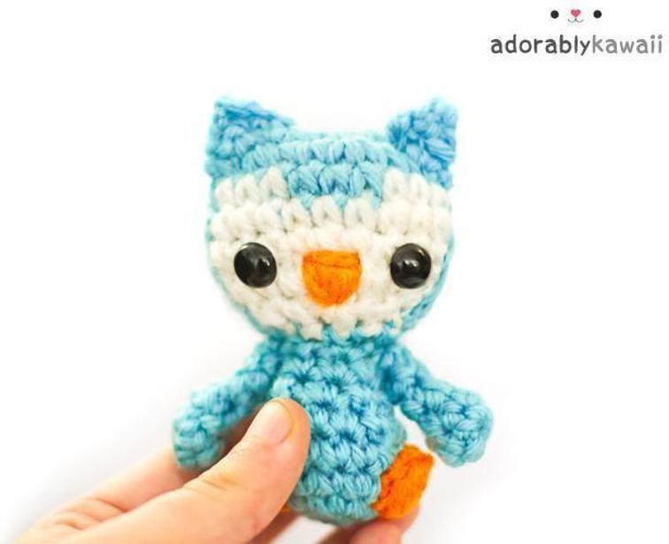 Tiny Owl Amigurumi | Craftsy | Crochet for babies | Pinterest