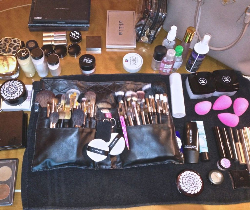 What's in My Makeup Kit? My Top 10 Makeup kit, Makeup