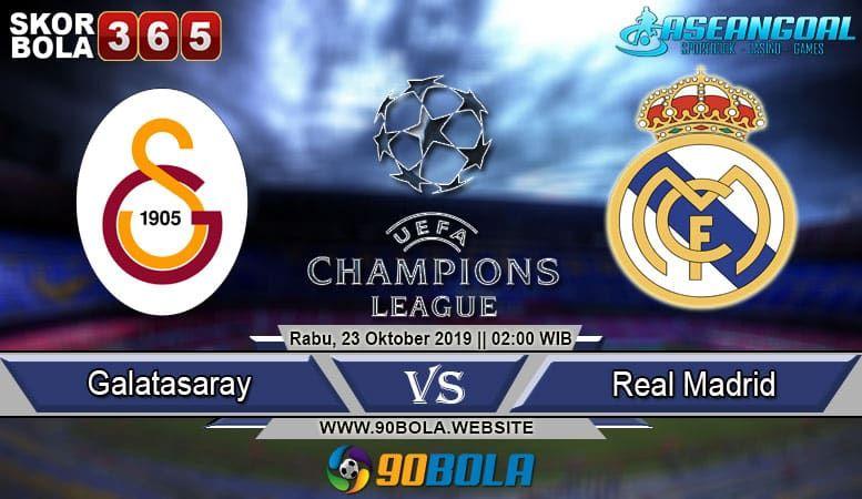Prediksi Skor Bola Galatasaray Vs Real Madrid 23 Oktober