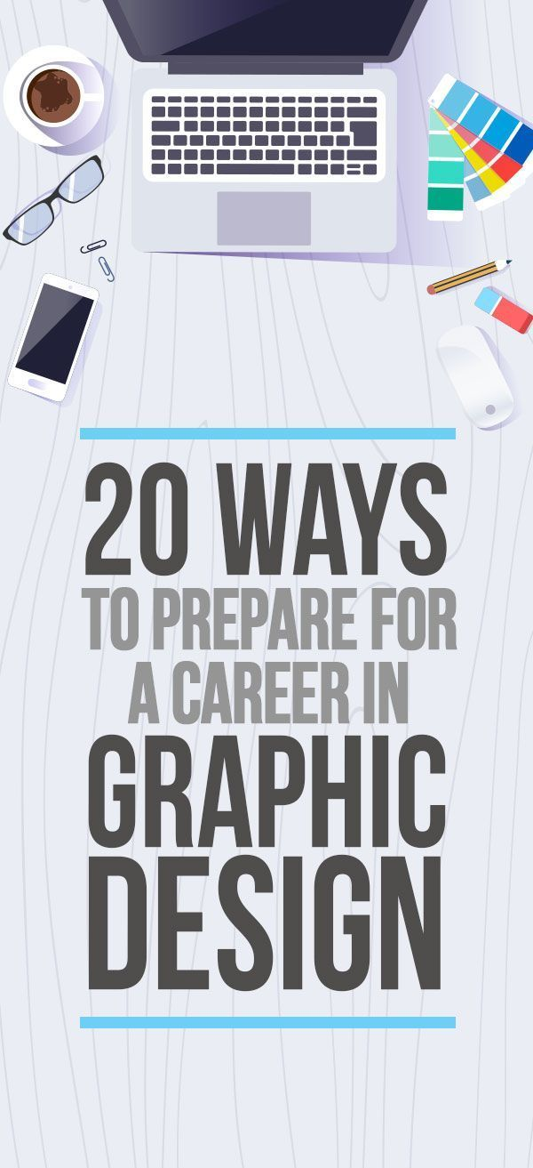 Graphic Design Career - 20 Ways to Prepare #graphicdesign