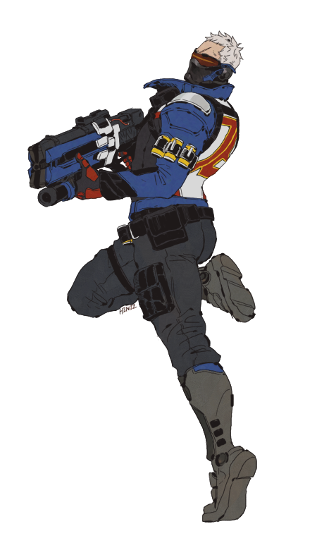Reaper76 Overwatch Soldier 76 Character Design Male