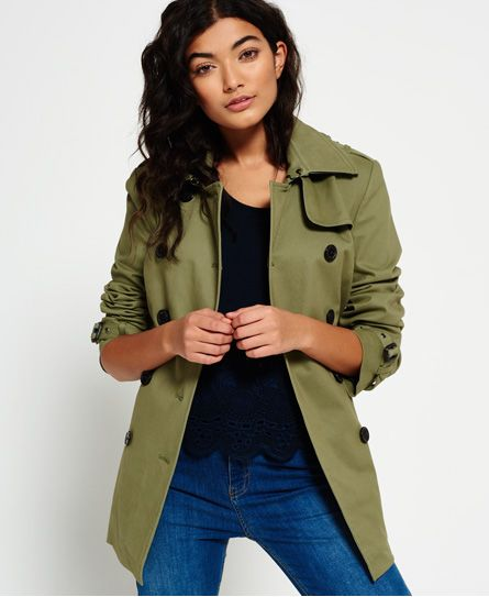 Superdry Trench Summer Belle
