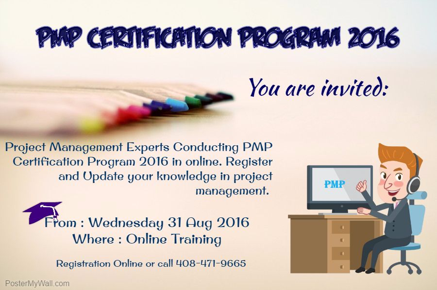 Project Management Certification Usa Gallery Certificate Design