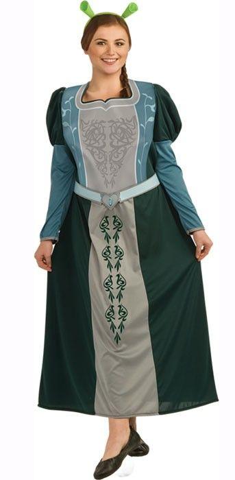 Adult fiona plus size costumes photos 89