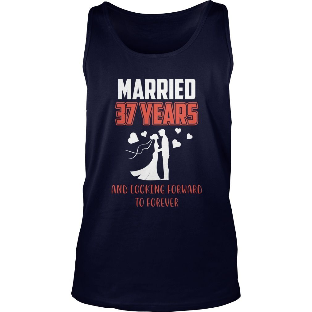 Best T Shirt For Husband Wife 37th Wedding Anniversary Gift Gift