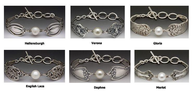 Spoon Jewelry Pearl Bracelet