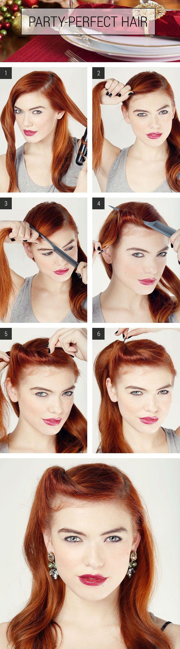tutoriaux de coiffures faciles à faire soit même u pinteresu