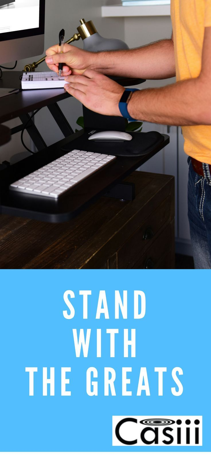 Best adjustable standing desk riser gas spring converter to stand