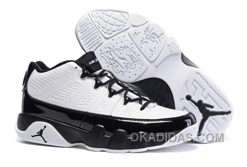 Air Jordan 9 Low WhiteBlack Cheap To Buy