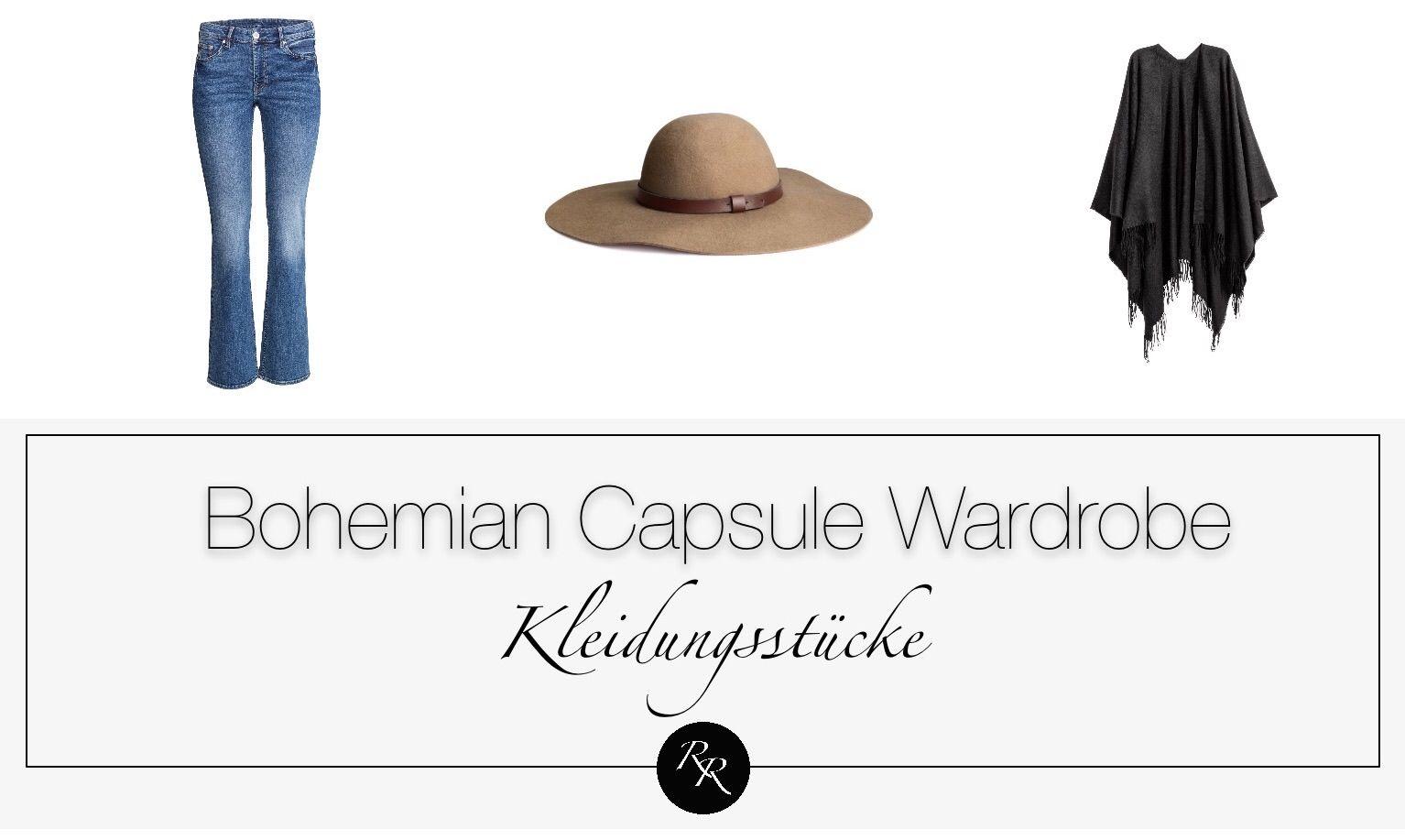 Boho Style Mode Stil Serie Modestil Bohemian Mode Einfacher Kleidungsstil