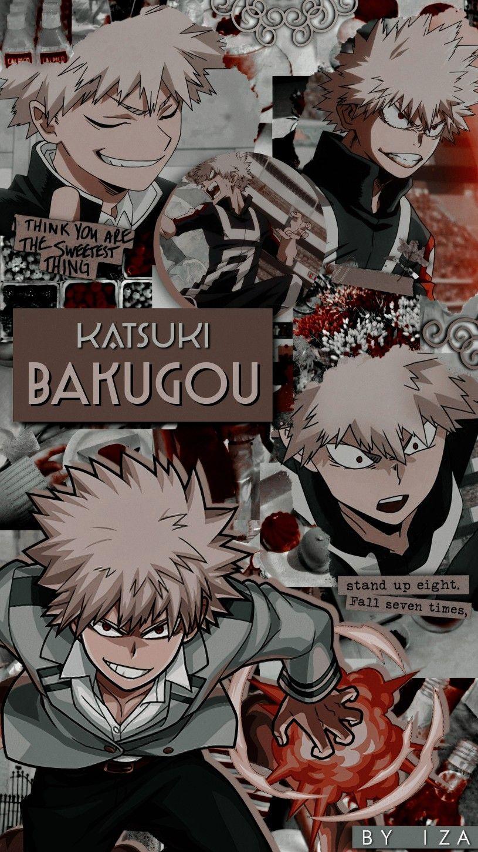 Bakugou Wallpaper Bnha Edit Anime Wallpaper Anime Boku No Hero Academia Funny