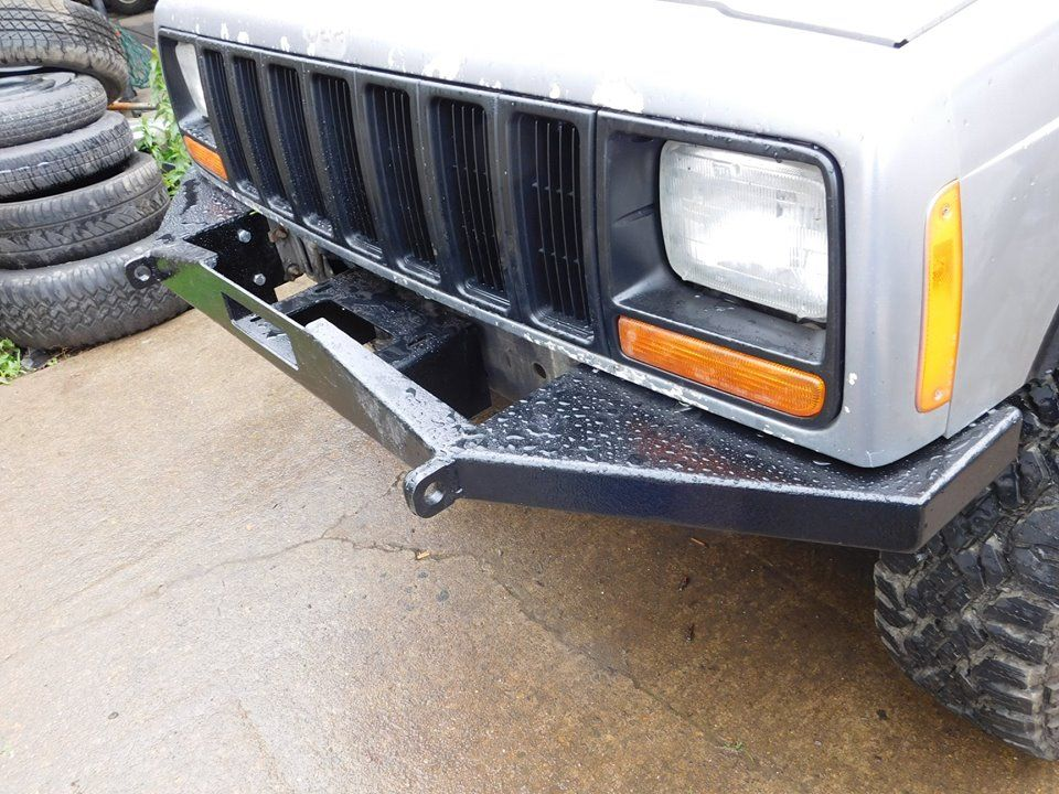 84 01 Xj Front Winch Kit Diy Off Road Winch Bumpers Winch