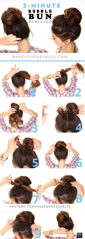 17 Maneras para lograr el chongo perfecto en tu cabello ⋮ Es la moda