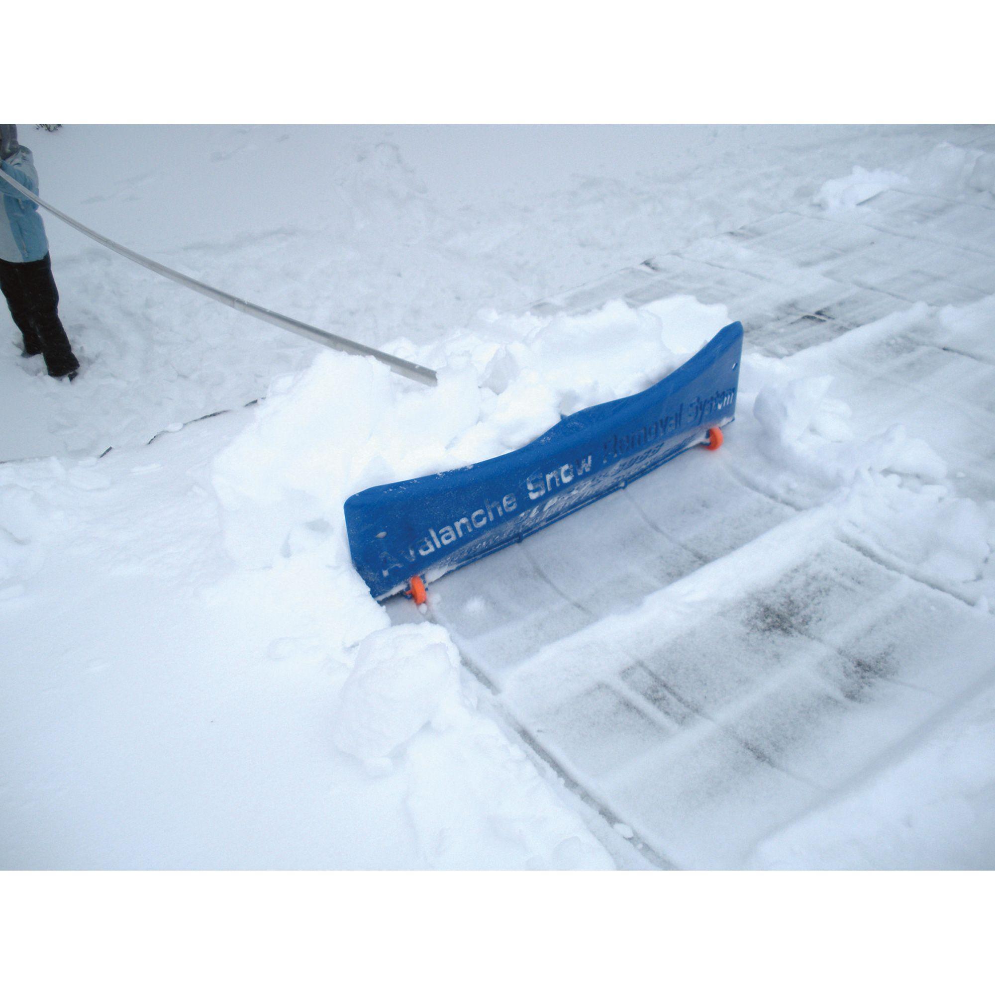 Wishlist Avalanche! SnowRake! Deluxe 20 Roof Rake — 24in