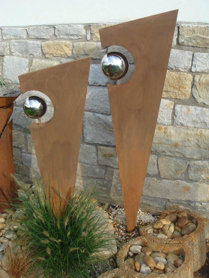 rostwerk a b garten pinterest kunst aus metall skulpturen und garten. Black Bedroom Furniture Sets. Home Design Ideas