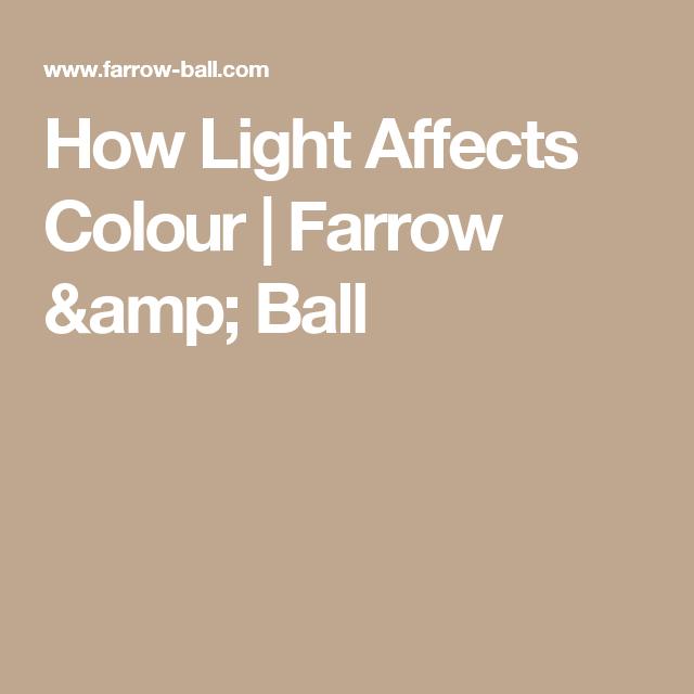 How Light Affects Colour    Farrow & Ball