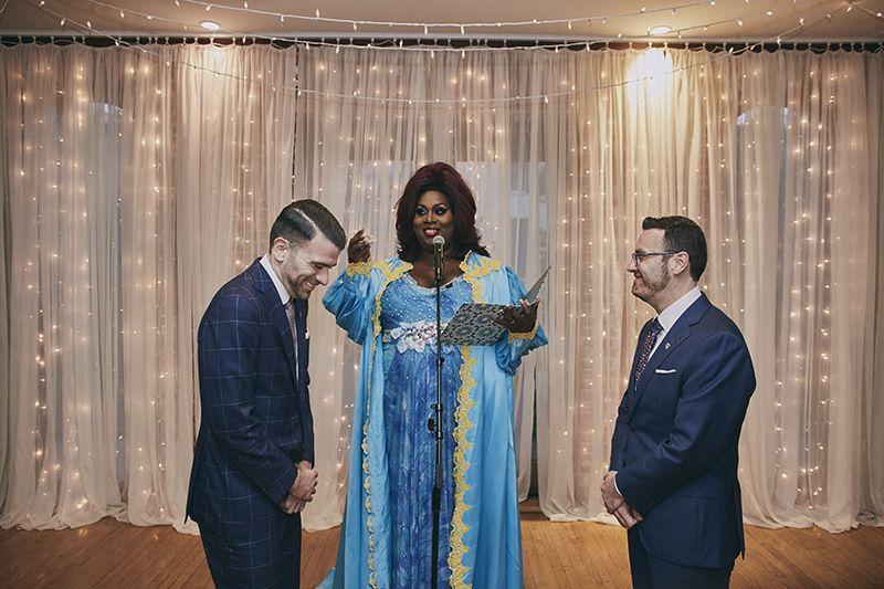 Latrice Royale wedding officiant  Deity Brooklyn Wedding Venue