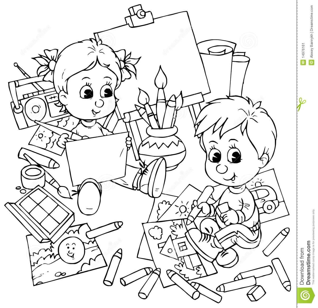 Drawing And Colouring Pictures For Kids